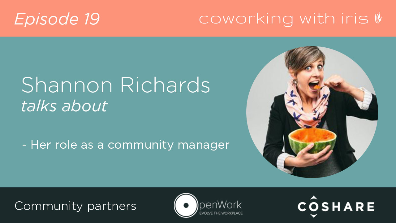 Episode 19: Community Manager profile: Shannon Richards